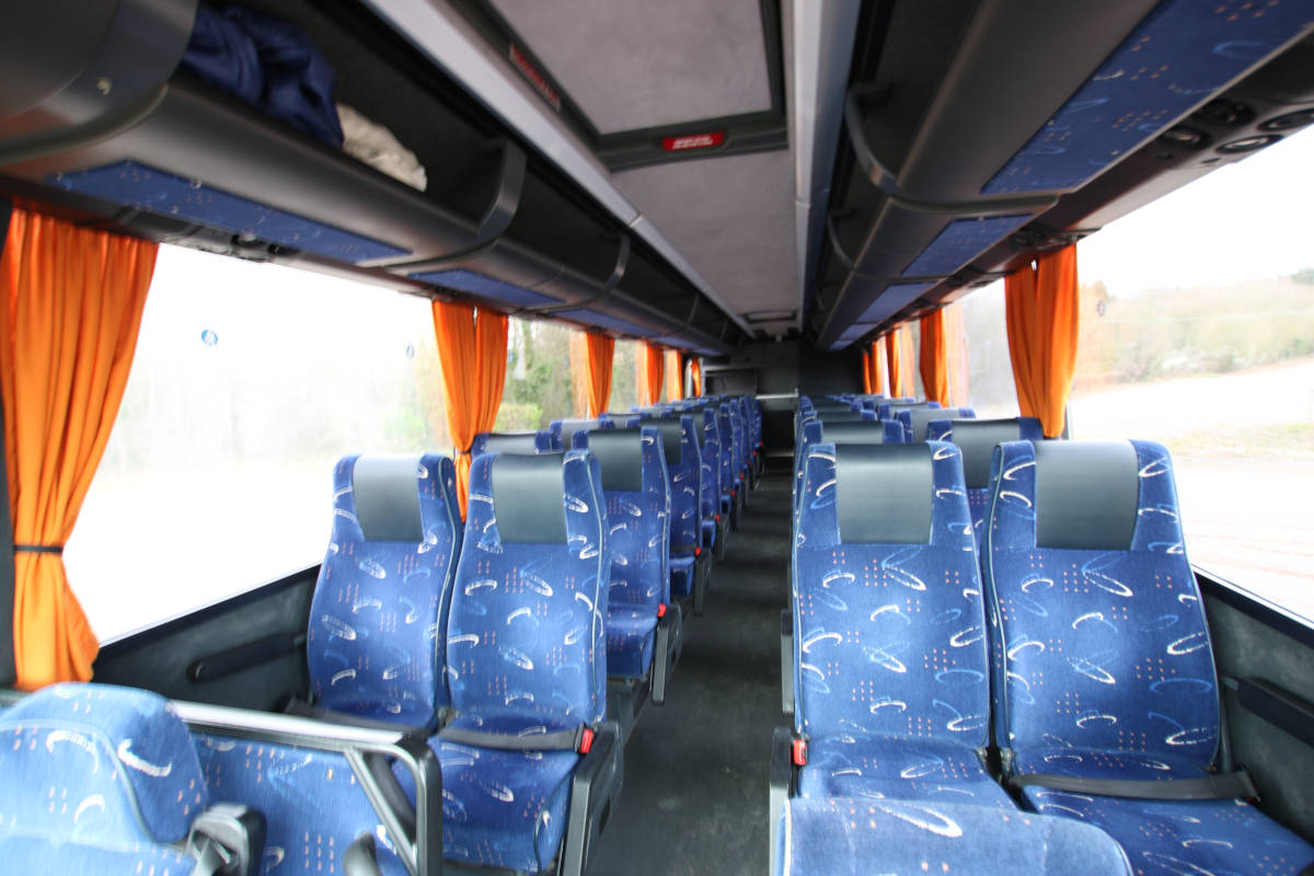 Image of For medium sized parties, our 37 seat coach is perfect.