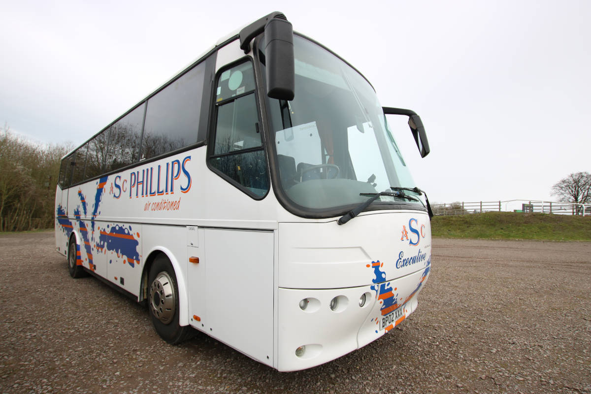 image showing For medium sized parties, our 37 seat coach is perfect.