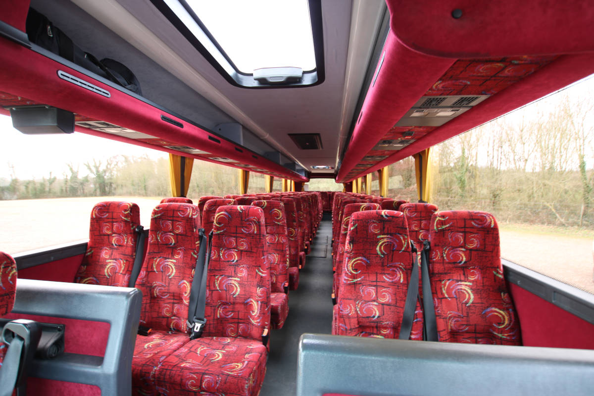 Image of The Latest Addition to Our Fleet - 70 Seat Luxury Coach