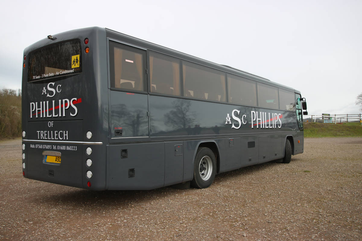 An image of The Latest Addition to Our Fleet - 70 Seat Luxury Coach goes here.
