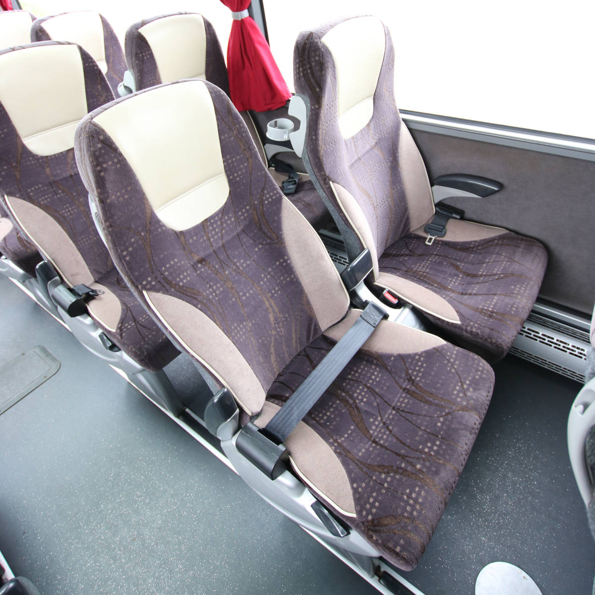 Image of 53 Seat Luxury Coach, Reclining Seat Detail