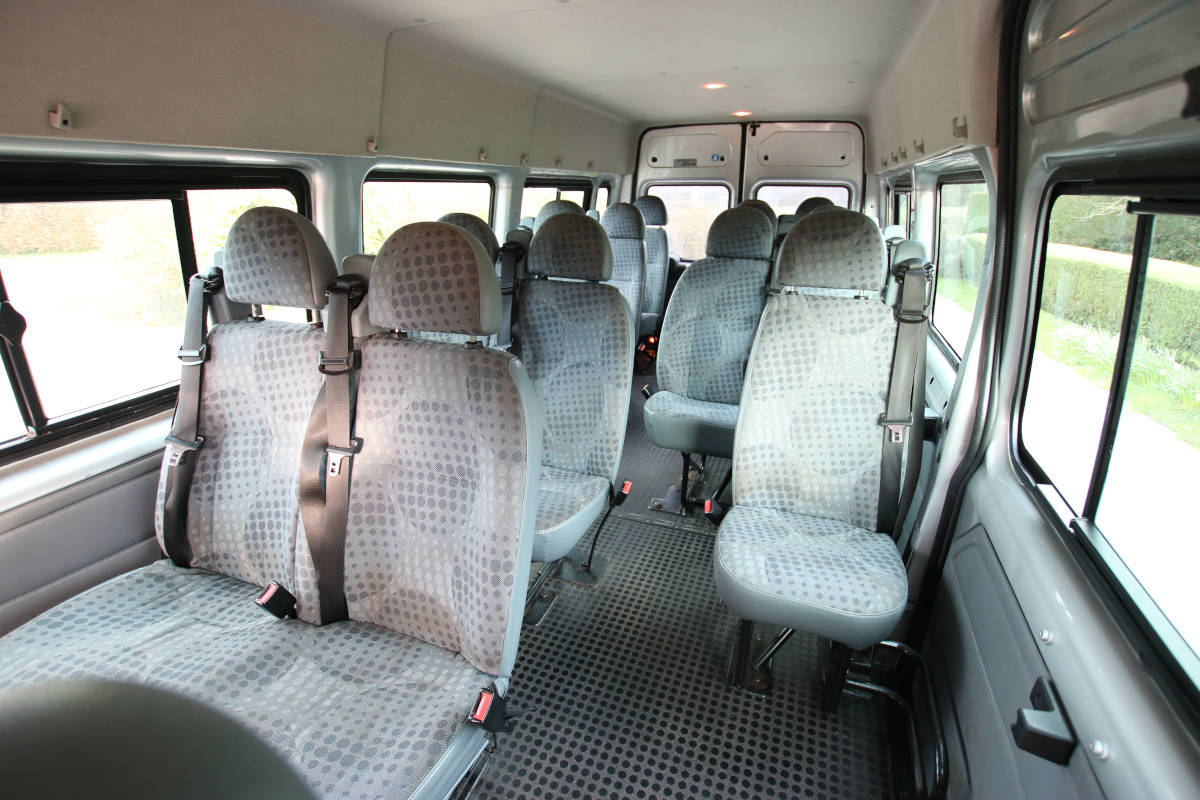 An image of Minibus travel is ideal for small groups goes here.